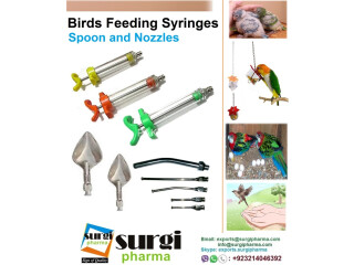Bird Feeding Syringes